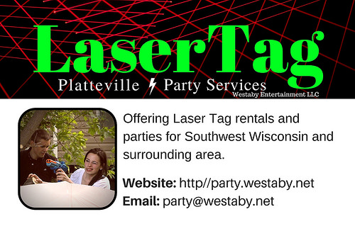 LaserTag Business Card