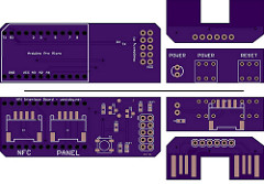 PCB: Pi Power and NFC wiring