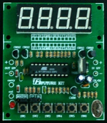 Bakatronics: FK936 4 digit counter kit