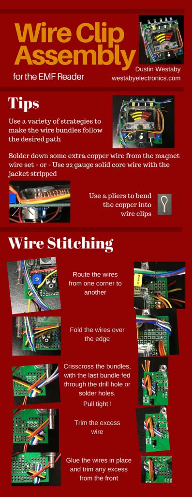 EMF Assembly Notes - Wire Clips